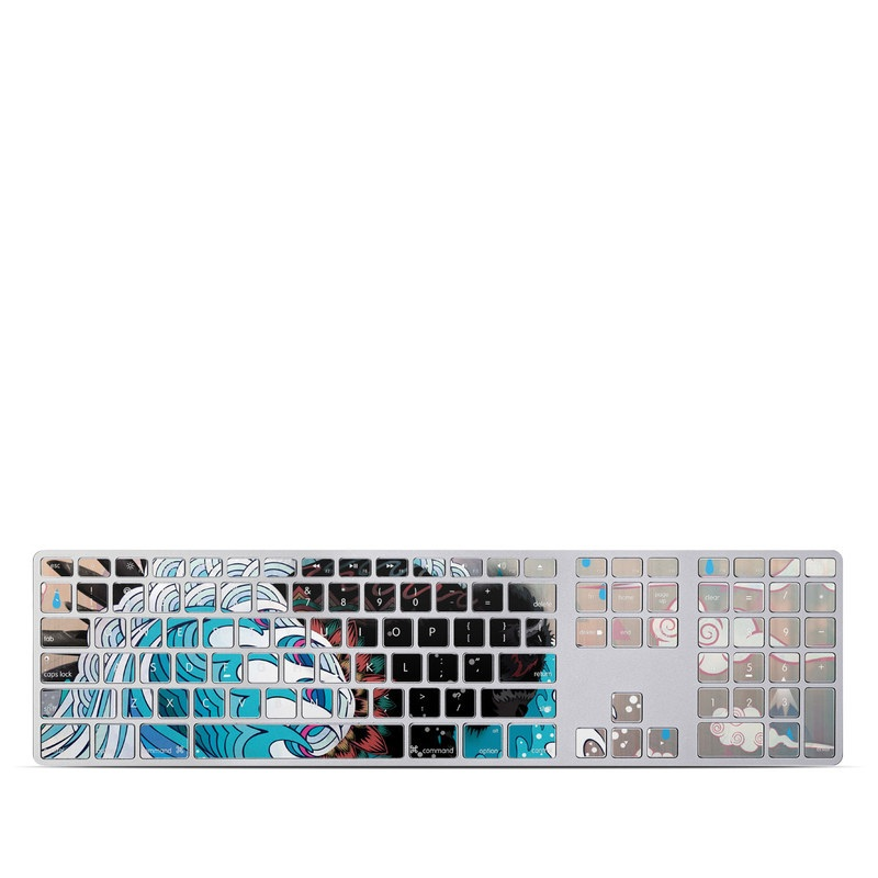 Unstoppabull Apple Keyboard with Numeric Keypad Skin