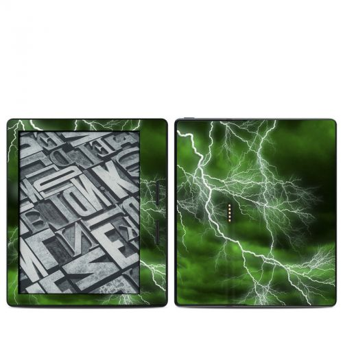 Apocalypse Green Amazon Kindle Oasis Skin