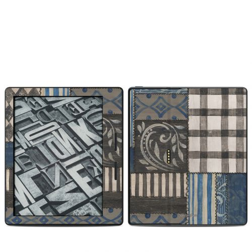 Country Chic Blue Amazon Kindle Oasis Skin
