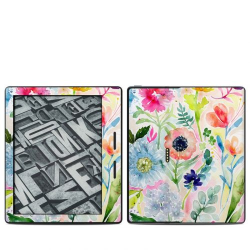 Loose Flowers Amazon Kindle Oasis 1 Skin