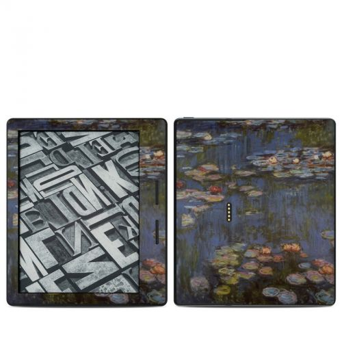 Water lilies Amazon Kindle Oasis Skin