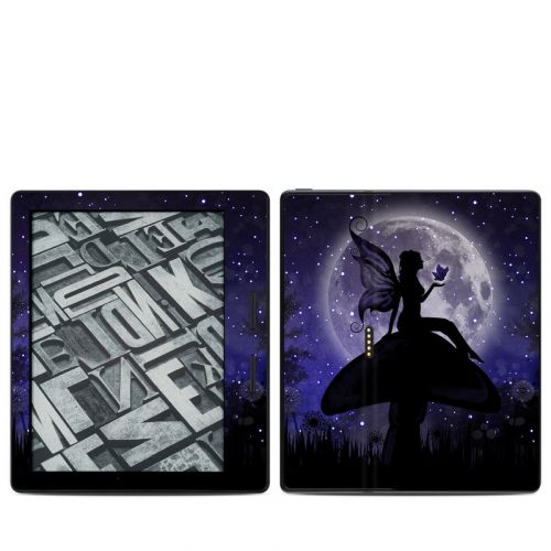 Moonlit Fairy Amazon Kindle Oasis 1 Skin