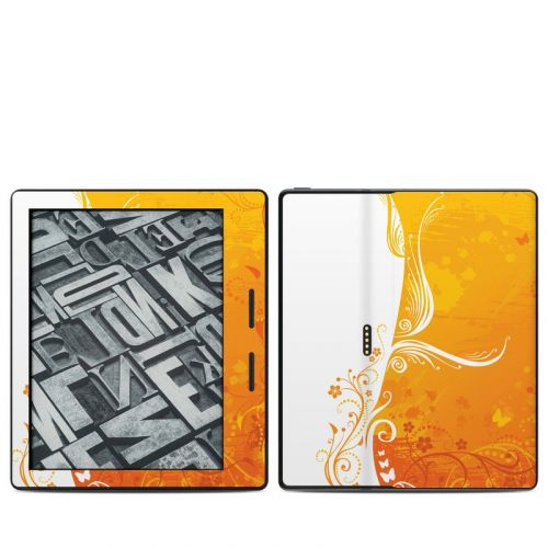 Orange Crush Amazon Kindle Oasis Skin