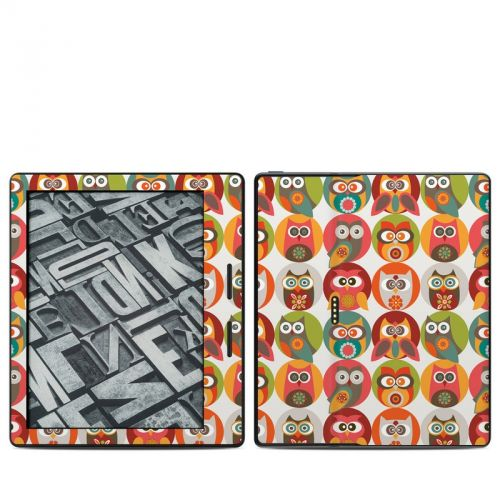 Owls Family Amazon Kindle Oasis Skin