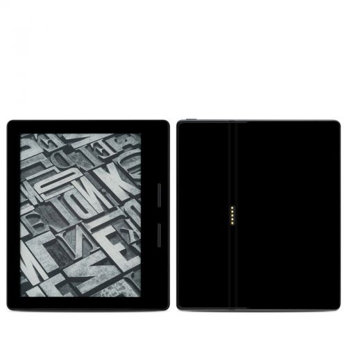 Solid State Black Amazon Kindle Oasis Skin