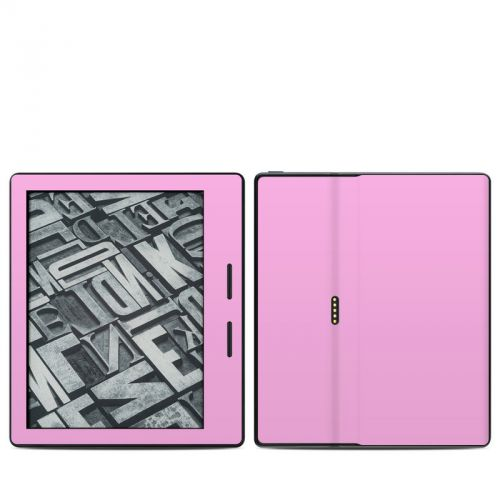 Solid State Pink Amazon Kindle Oasis Skin