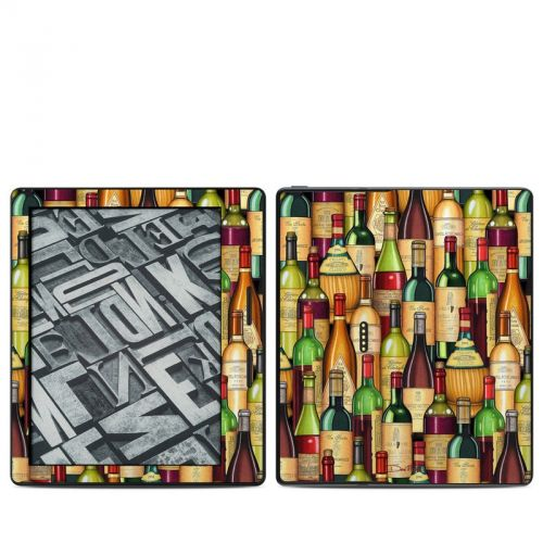Time For Wine Amazon Kindle Oasis Skin