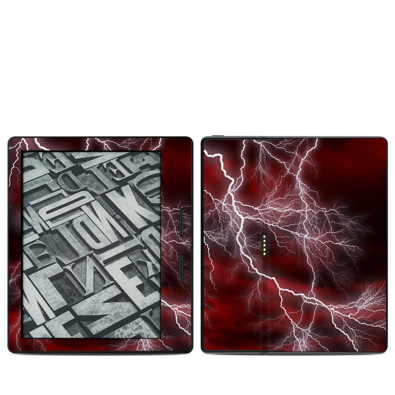 Apocalypse Red Amazon Kindle Oasis 1 Skin