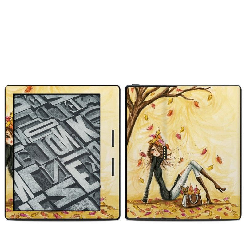 Autumn Leaves Amazon Kindle Oasis 1 Skin