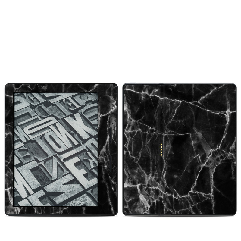 Black Marble Amazon Kindle Oasis 1 Skin