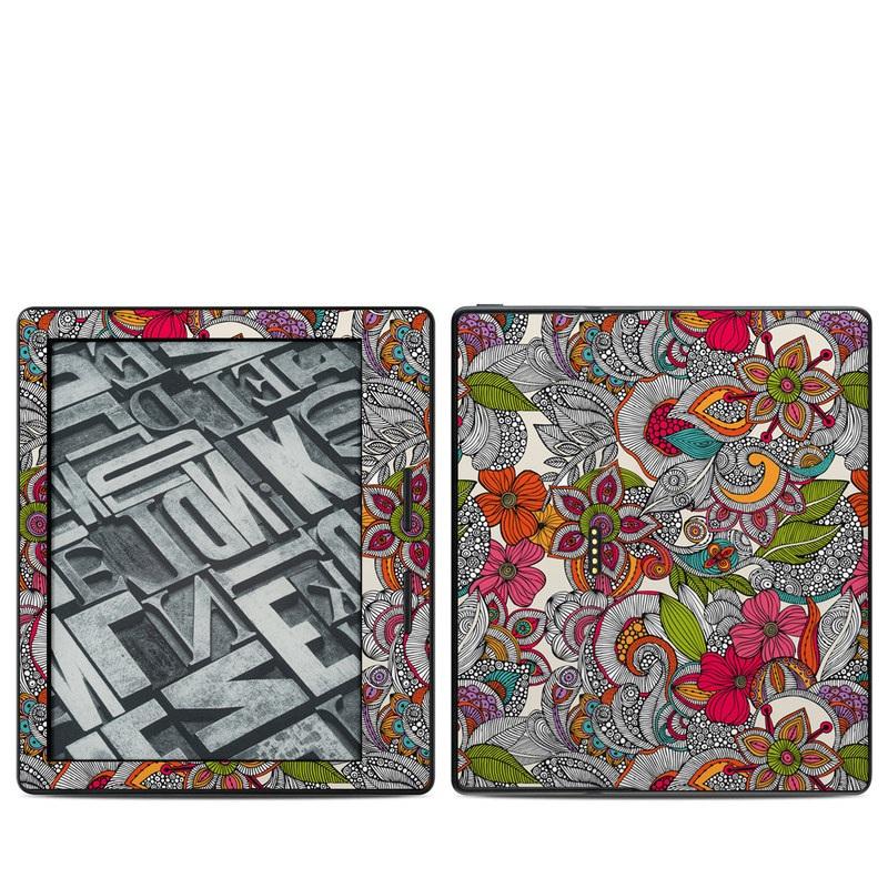 Doodles Color Amazon Kindle Oasis Skin