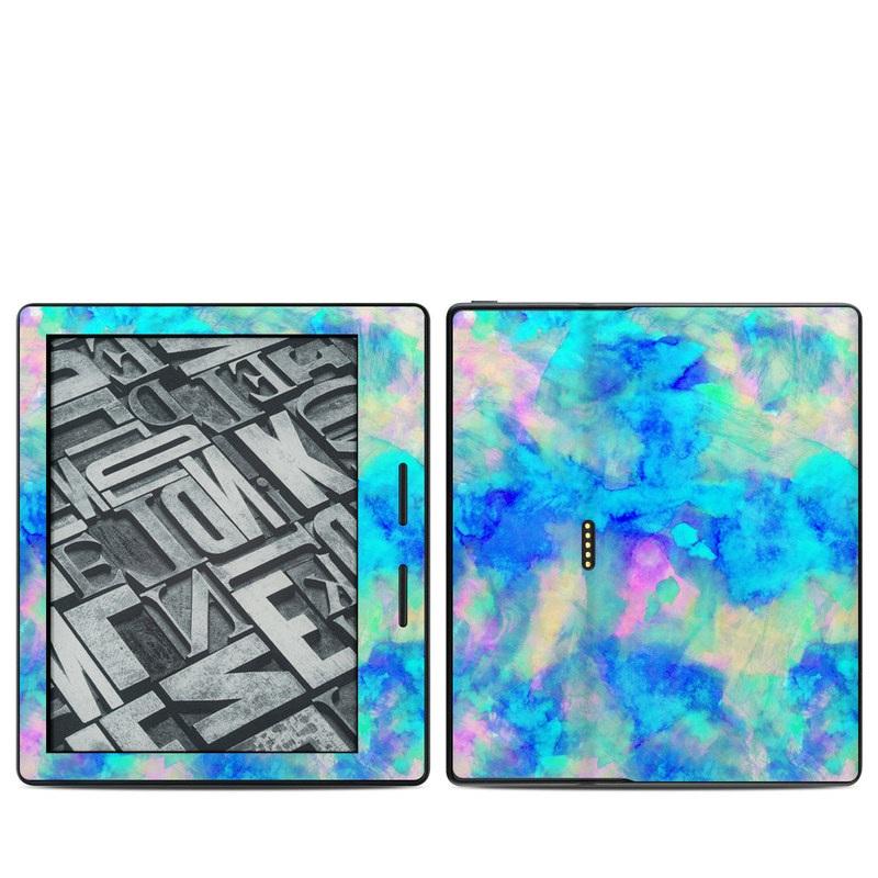Electrify Ice Blue Amazon Kindle Oasis Skin
