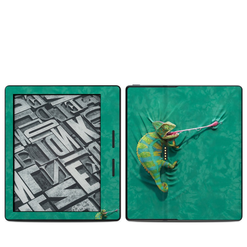 Iguana Amazon Kindle Oasis 1 Skin