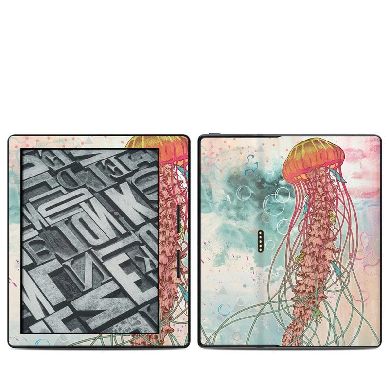 Jellyfish Amazon Kindle Oasis 1 Skin