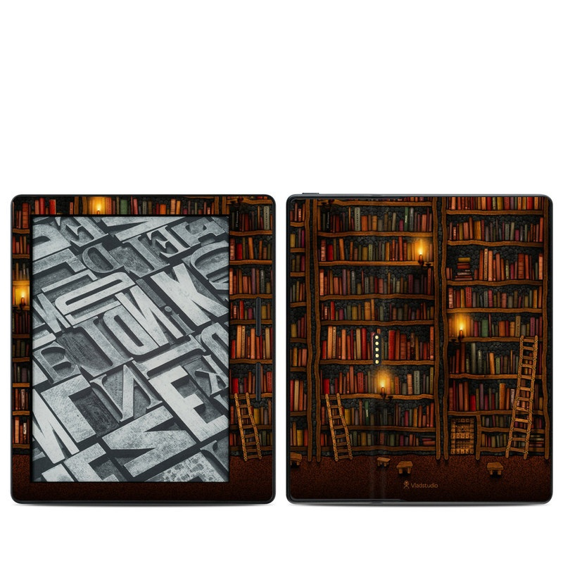 Library Amazon Kindle Oasis 1 Skin