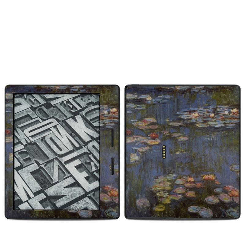 Water lilies Amazon Kindle Oasis Skin