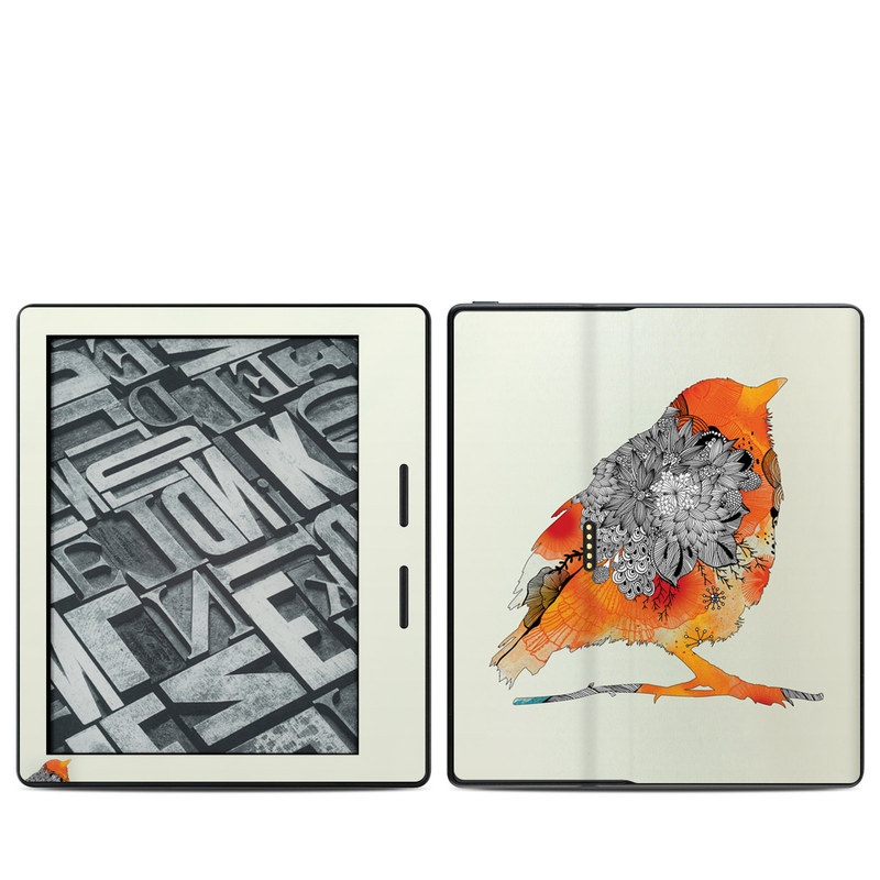 Orange Bird Amazon Kindle Oasis 1 Skin