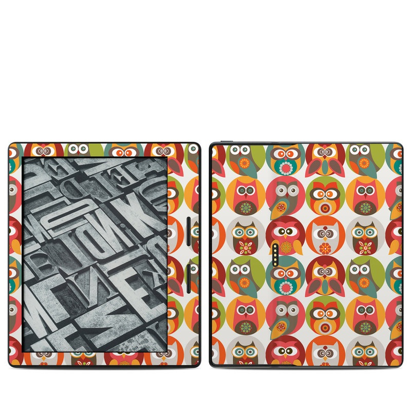 Owls Family Amazon Kindle Oasis 1 Skin