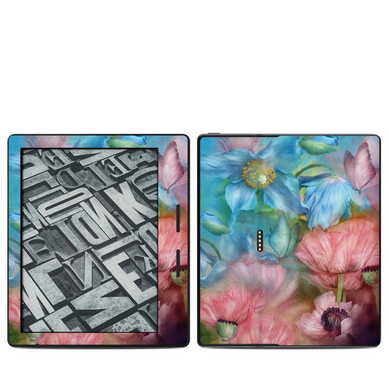 Poppy Garden Amazon Kindle Oasis Skin