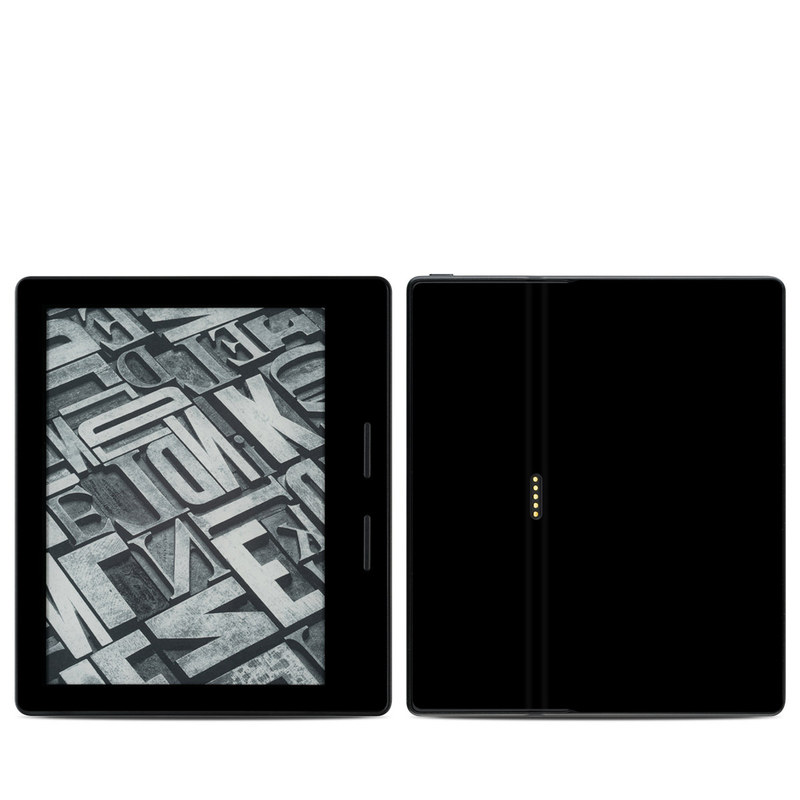 Solid State Black Amazon Kindle Oasis 1 Skin
