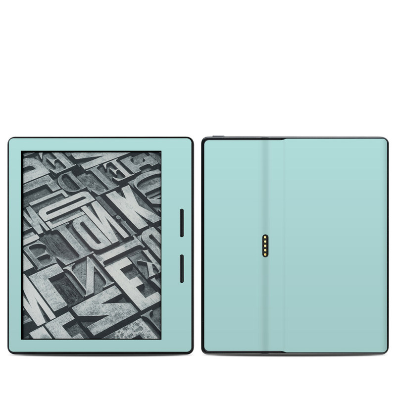 Solid State Mint Amazon Kindle Oasis 1 Skin