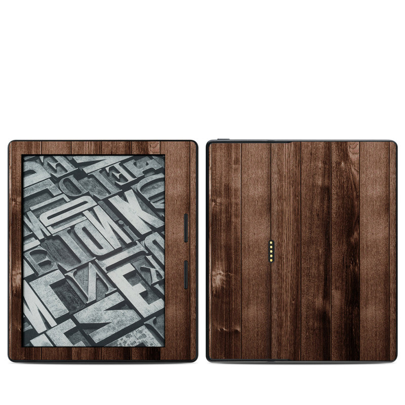 Stained Wood Amazon Kindle Oasis 1 Skin