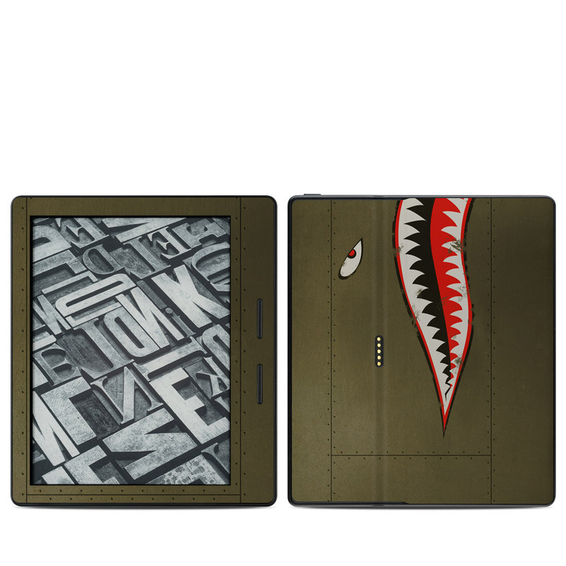 USAF Shark Amazon Kindle Oasis 1 Skin