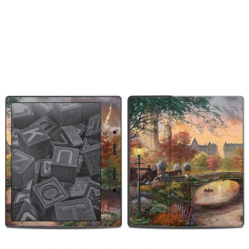 Autumn in New York Amazon Kindle Oasis 2 Skin