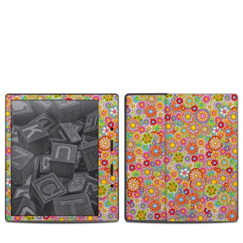 Bright Ditzy Amazon Kindle Oasis 2 Skin