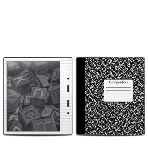 Composition Notebook Amazon Kindle Oasis (2017) Skin