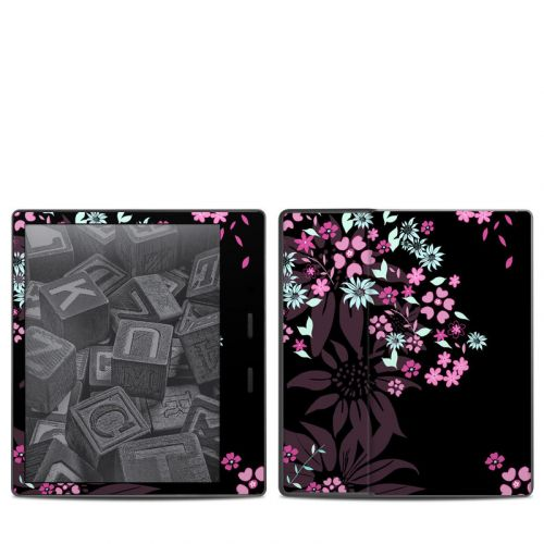Dark Flowers Amazon Kindle Oasis 2 Skin