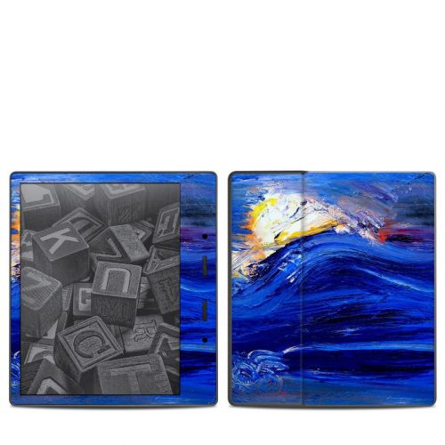 Feeling Blue Amazon Kindle Oasis 2 Skin