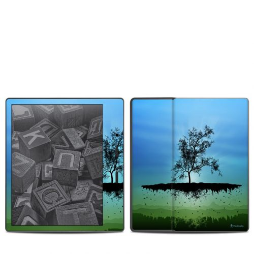 Flying Tree Blue Amazon Kindle Oasis 2 Skin