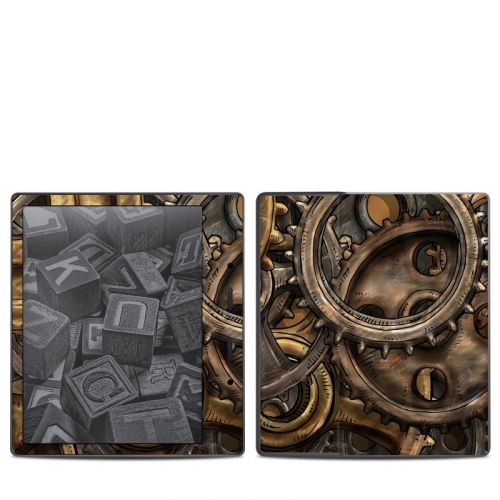 Gears Amazon Kindle Oasis 2 Skin