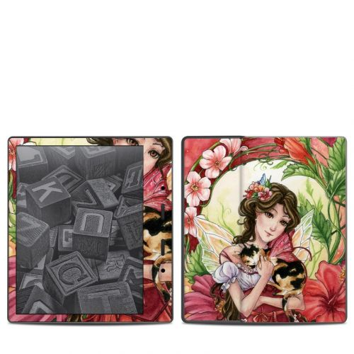 Hibiscus Fairy Amazon Kindle Oasis 2 Skin