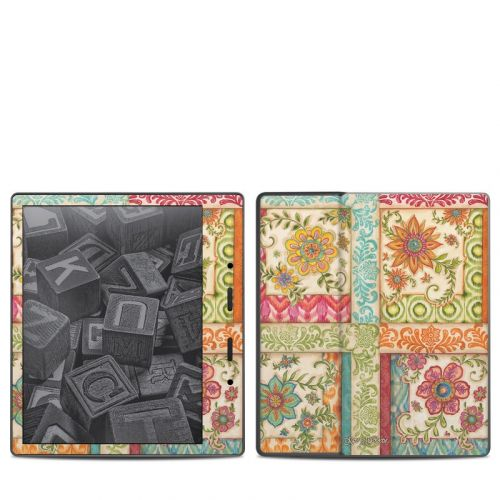 Ikat Floral Amazon Kindle Oasis (2017) Skin