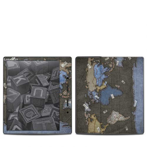 Jean Map Amazon Kindle Oasis 2 Skin