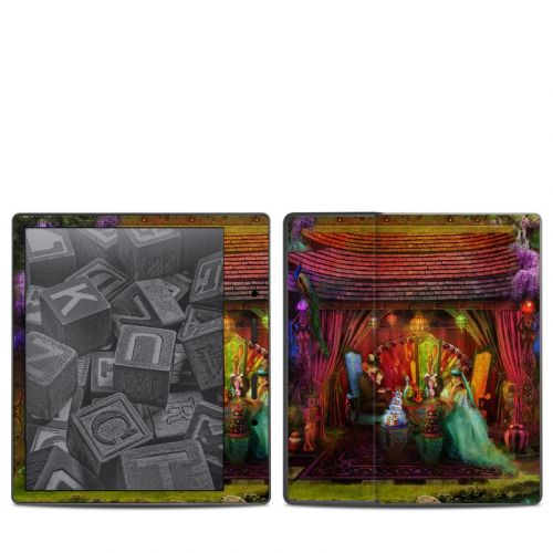 A Mad Tea Party Amazon Kindle Oasis 2 Skin