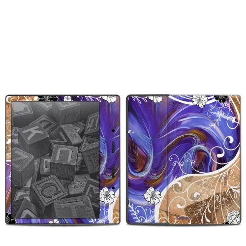 Purple Waves Amazon Kindle Oasis 2 Skin