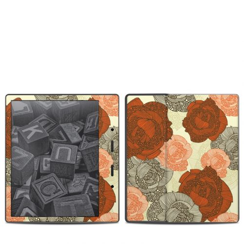 Roses Amazon Kindle Oasis 2 Skin