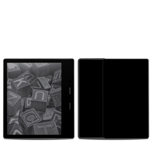 Solid State Black Amazon Kindle Oasis 2 Skin