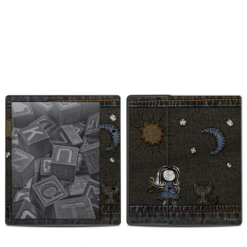Stitching Amazon Kindle Oasis 2 Skin
