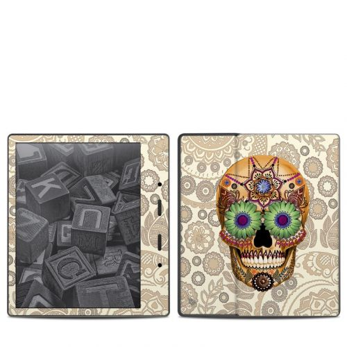 Sugar Skull Bone Amazon Kindle Oasis 2 Skin