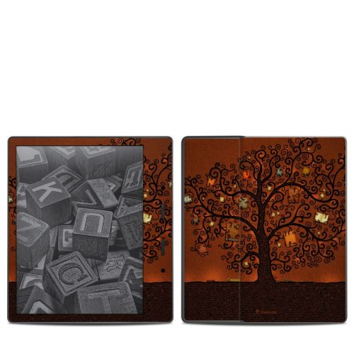 Tree Of Books Amazon Kindle Oasis (2017) Skin