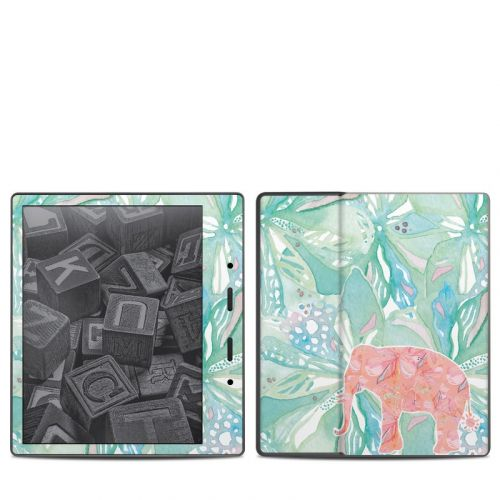 Tropical Elephant Amazon Kindle Oasis 2 Skin