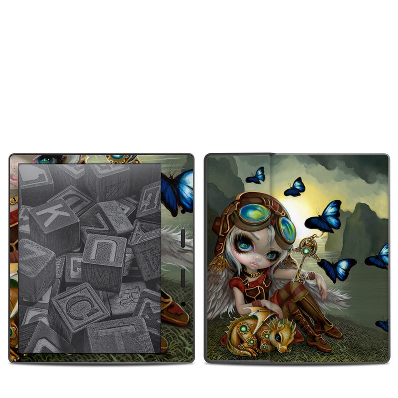 Clockwork Dragonling Amazon Kindle Oasis 2 Skin