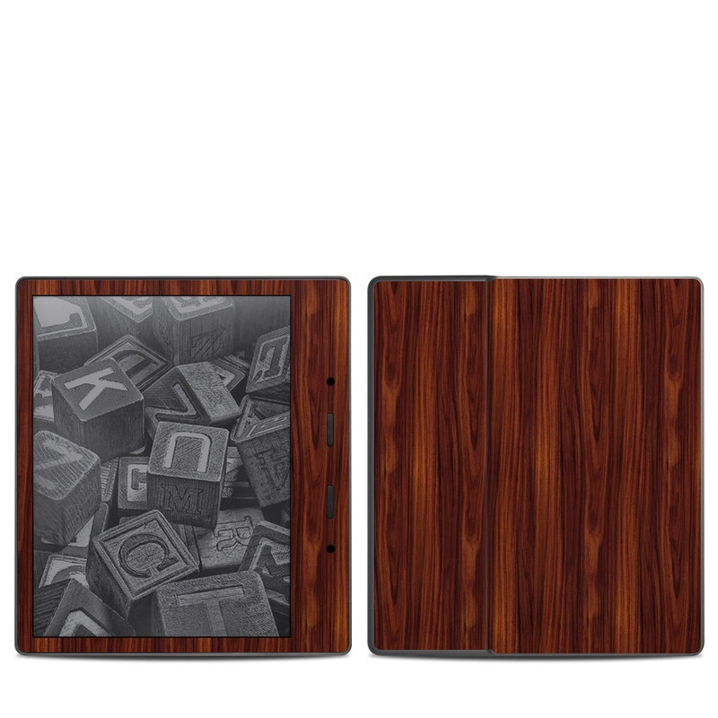 Amazon Kindle Oasis 2nd Gen Skin design of Wood, Red, Brown, Hardwood, Wood flooring, Wood stain, Caramel color, Laminate flooring, Flooring, Varnish with black, red colors