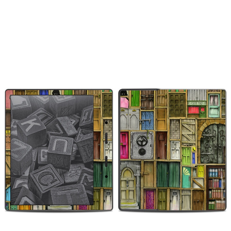 Doors Closed Amazon Kindle Oasis 2 Skin
