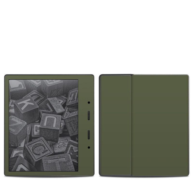 Amazon Kindle Oasis 2nd Gen Skin design of Green, Brown, Text, Yellow, Grass, Font, Pattern, Beige with green colors