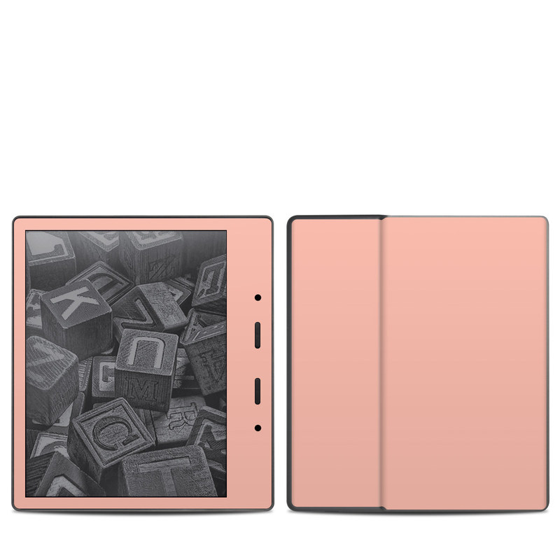 Solid State Peach Amazon Kindle Oasis 2 Skin